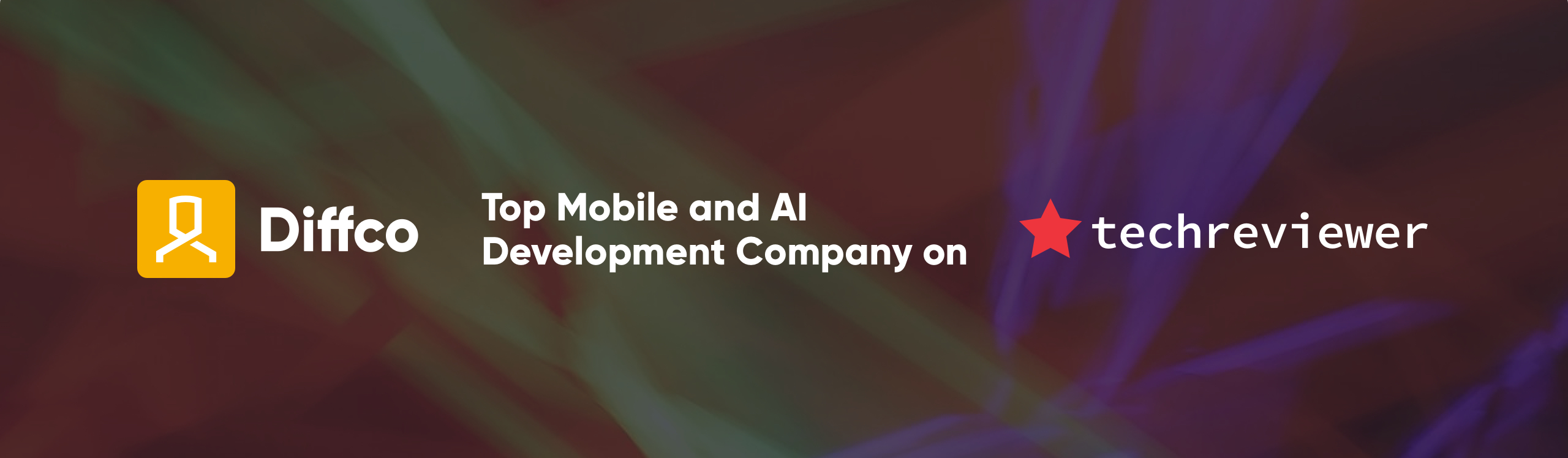 Diffco is recognized by Techreviewer as a Top Mobile and AI Development Company in 2021